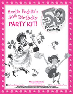 Amelia Bedelia 50th Anniversary Event Kit