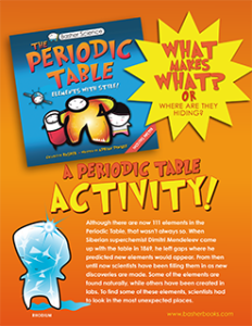 Basher Science: Periodic Table Activity Sheets