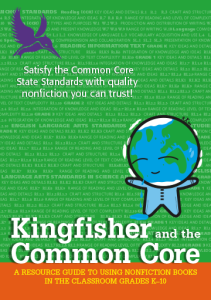 CCSS Correlations for Basher Books