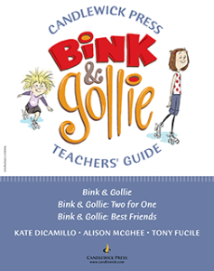 Bink & Gollie Book Activities