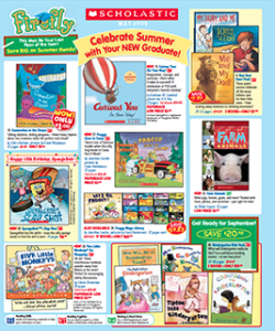 Scholastic Firefly Book Club Flyer