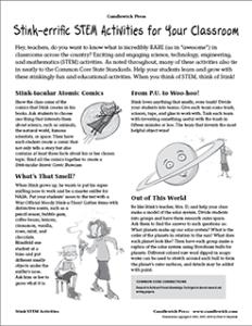 STEM-aligned Stink Educators' Guide